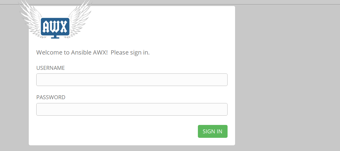 welcome awx